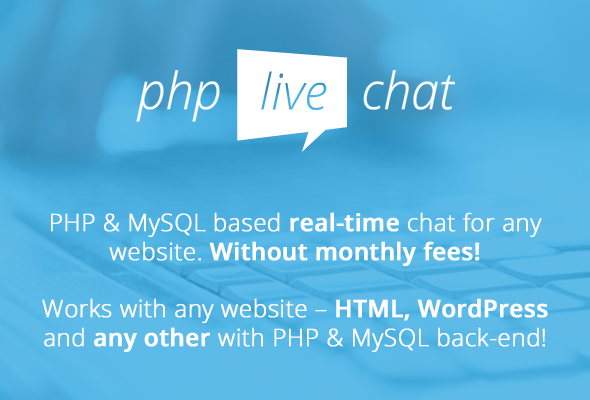 PHP Live Support Chat - 2
