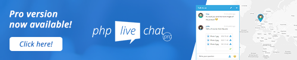 PHP Live Support Chat - 1